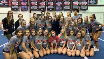 Belton High cheer looks to defend national title