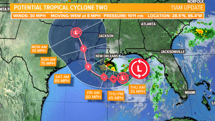 July 10, 2019 Tropical Cyclone outlook