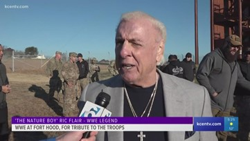 WWE holds 16th Annual Tribute to the Troops at Fort Hood