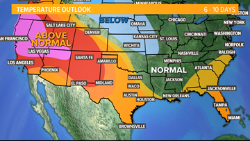 Central Texas local forecast: Seasonable and sunny