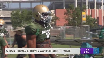 Shawn Oakman's attorney files change of venue motion