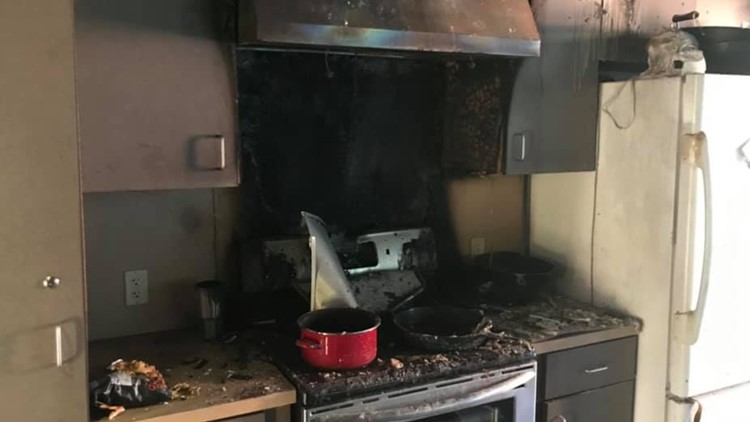 Temple Fire Department puts out fire at one of its own stations