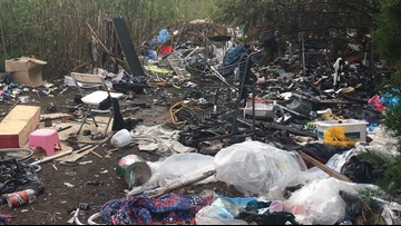 Waco police disassemble 4 homeless camps