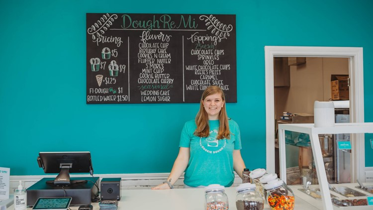 Local online cookie dough business opens location in Belton
