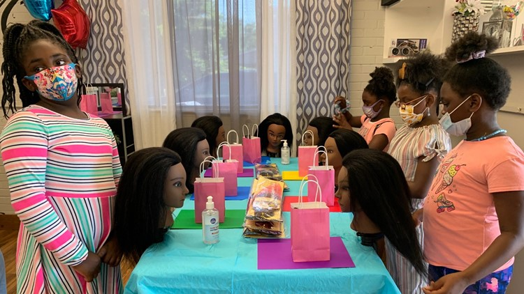 Heart of Central Texas: Waco hairstylist offers free hair braiding camp for kids