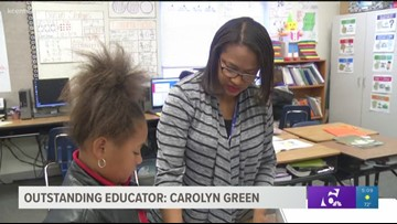 Outstanding Educator: Carolyn Green