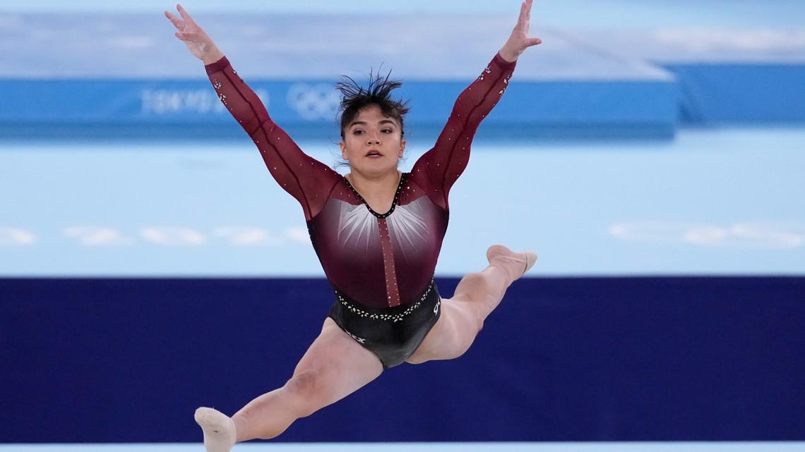 La gimnasta mexicana Alexa Moreno hace historia con ganar el cuarto lugar en salto de caballo