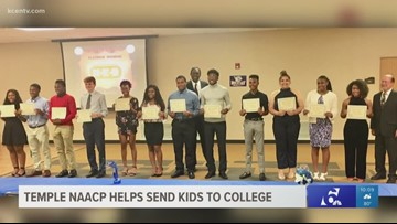 Temple NAACP helps local students go to college