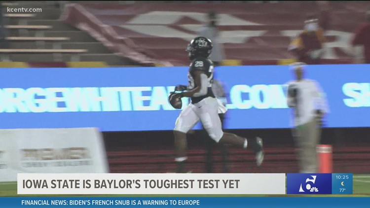 Iowa State is Baylor's toughest test yet