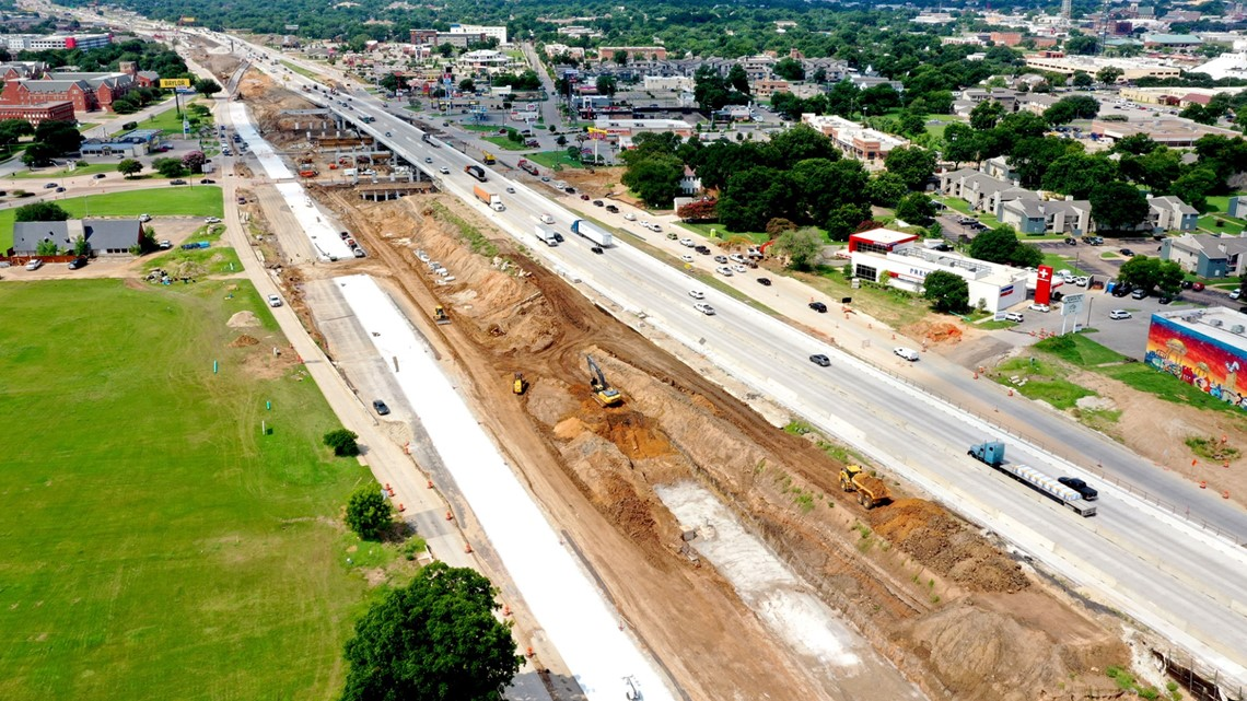 Lanes closures happening in Waco due to overpass construction | kcentv.com
