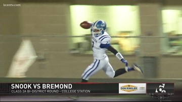 FNL PLAYOFFS WEEK ONE: Snook vs. Bremond
