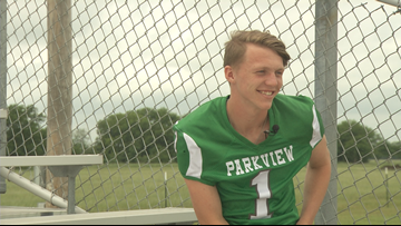 From 6-man high school football to the D1 gridiron: A Parkview athlete's story