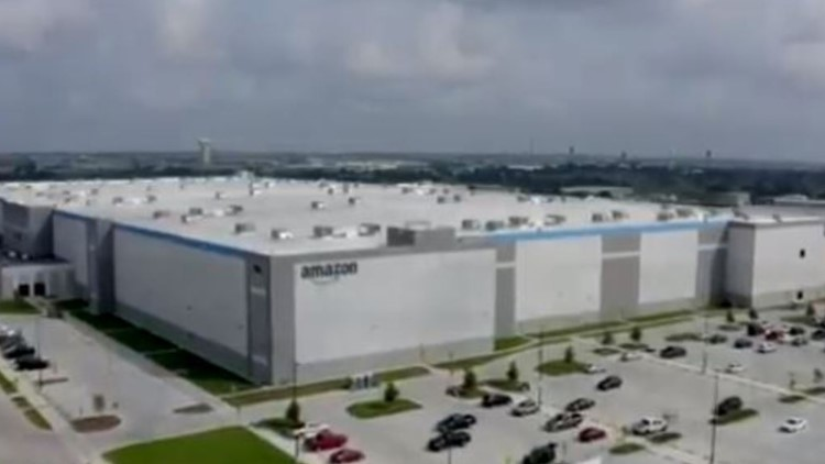 VIDEO: Take a look at the Waco Amazon fulfillment center as it nears completion