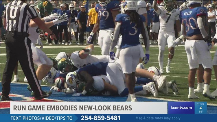 Run game embodies new-look bears