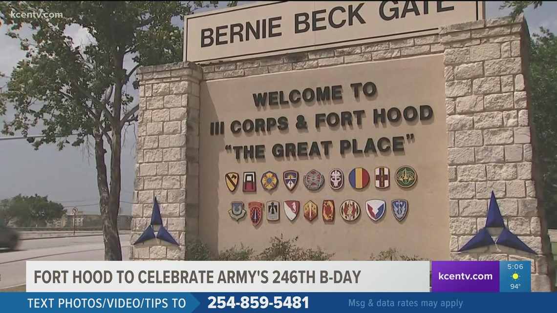 Fort Hood to celebrate Army's 246th birthday