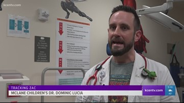 Tracking Zac: The Superhero Doctor at McLane Children's Hospital