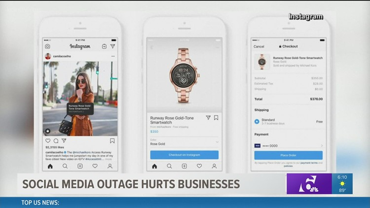 Social media outages hurt small businesses