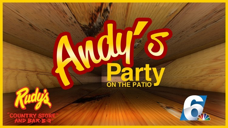 Enter To Win Andy's Party on the Patio!