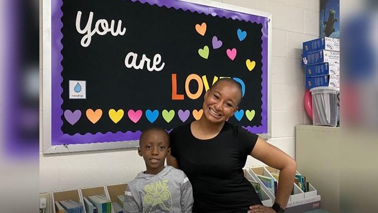 Despite language barrier, KISD kindergarten teacher, students help military child navigate in classroom