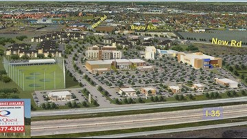Family entertainment center Cottonwood Creek Market breaks ground in Waco