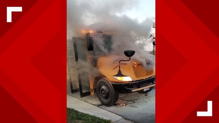 Killeen ISD bus fire 2