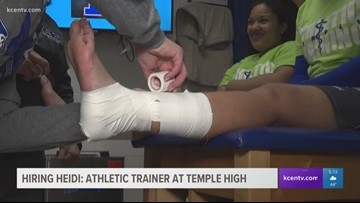 Hiring Heidi: Athletic trainer at Temple High