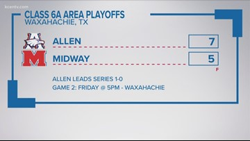 High School Baseball Playoffs scores from around Central Texas