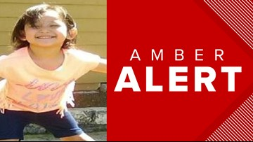 San Antonio police issue Amber Alert for 3-year-old girl