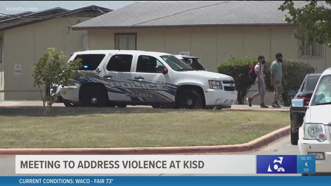 Killeen ISD officials, parents meet to address violence on campuses