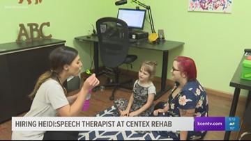 Hiring Heidi: Speech Therapist at Centex Rehab