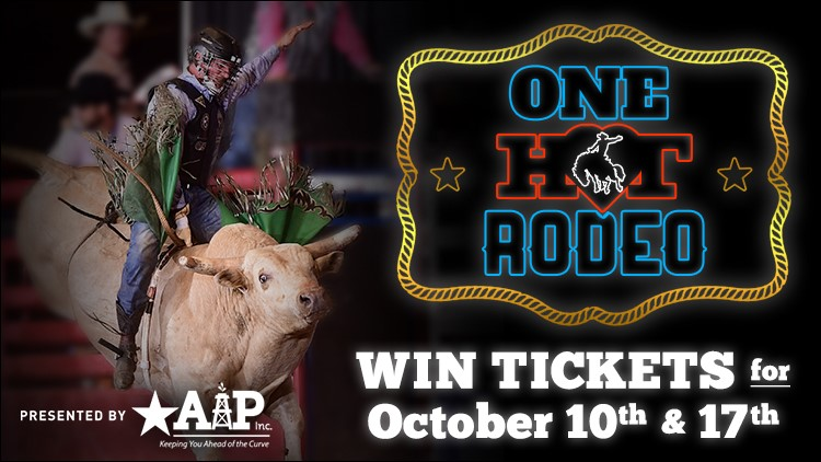 Enter to win tickets to the H.O.T Fair & Rodeo