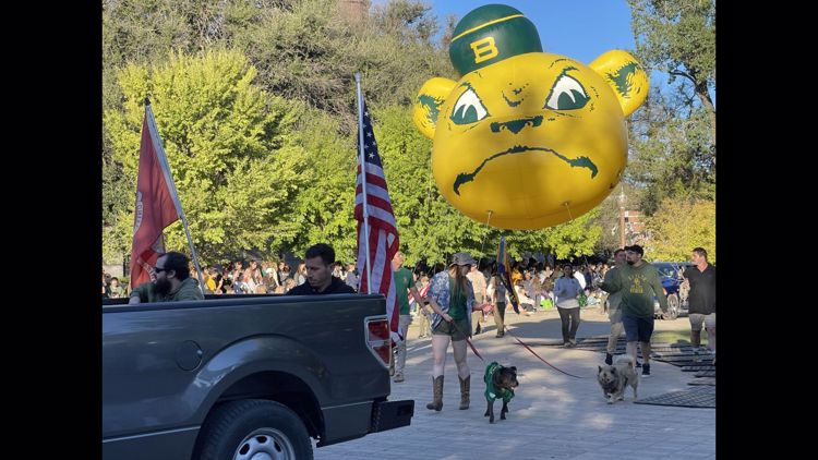 PHOTOS   2021 Baylor Homecoming Parade
