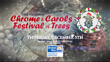 United Way of Central Texas presents 9th annual Chrome and Carols