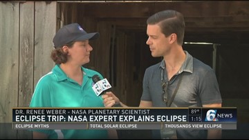 Eclipse Trip: NASA expert explains eclipse