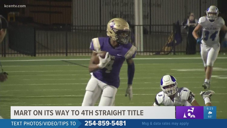 Mart Panthers have chance to win 4th straight state football championship
