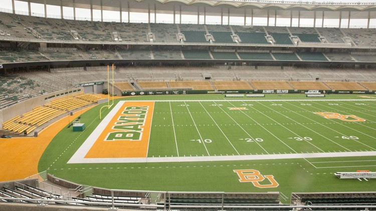 Change of scenery for Baylor fall camp