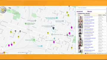 website to find sex offenders in your area