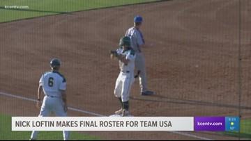 Baylor Baseball's Nick Loftin makes final roster for Team USA