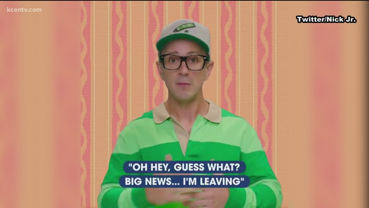 Steve sends fans a sweet message in honor of 'Blues Clues' 25th anniversary