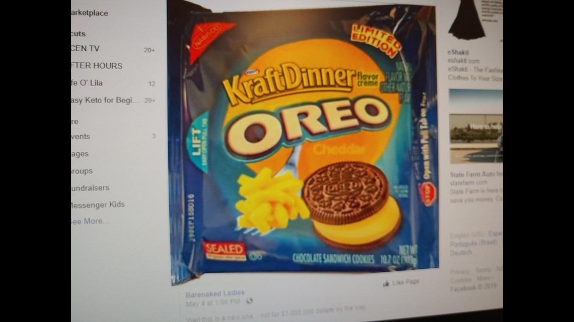 Verify: Do Kraft mac and cheese flavored OREOs exist?