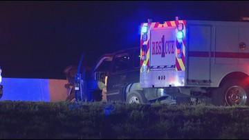 DPS on scene of crash near Bruceville-Eddy