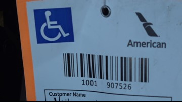 American Airlines 'working with a vendor' to repair Temple veteran's wheelchair damaged during flight