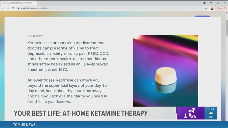 At-home ketamine treatment helping people with anxiety, depression | Your Best Life