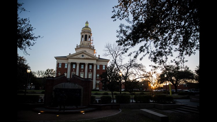 The woman, listed as Jane Doe in the lawsuit, claimed she was gang raped by at least four and according to some reports as many as eight Baylor football players