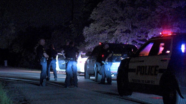 Police caught up to them and chased them through Hollywood Park and Hill Country Village. The chase ended on Tomahawk Trail near Loop 1604 around 3:50 a.m.