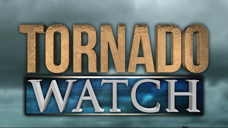 Area under tornado watch
