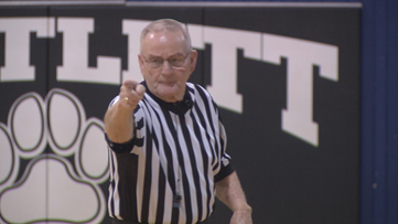 Referee says 'farewell' after 50 years on the job