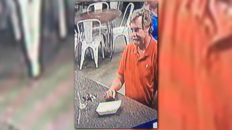 Recognize the man pictured? Call Salado police at 254 947-5681.