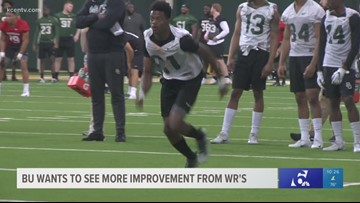 Baylor Football wants to see improvement from receivers