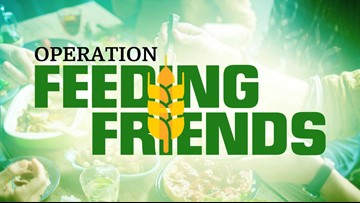 Help stock local pantry shelves through the Operation Feeding Friends Food Drive!